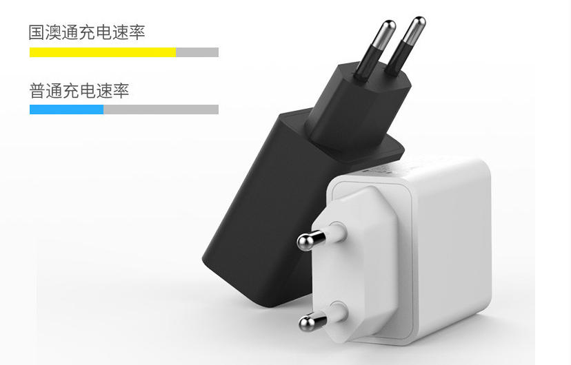 wholesales EU 5V2A USB Wall Charger Plug,white/black 4