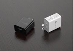 美規QC3.0快充充電器 UL認証5v3a手機USB快充充電頭 通用閃充