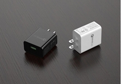 US 5V3A USB Wall Charger,QC3.0 power charger