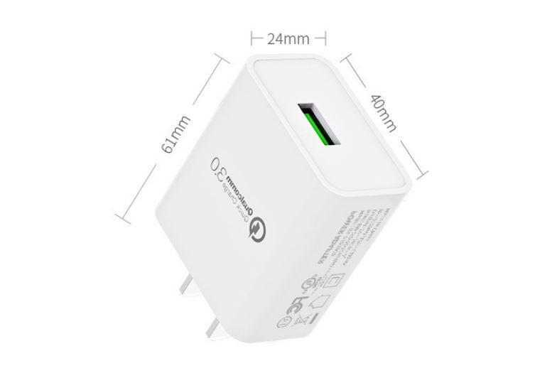 批发美规QC3.0快充充电器 UL认证5v3a手机USB快充充电头 通用闪充 4