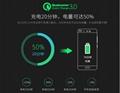 批发美规QC3.0快充充电器 UL认证5v3a手机USB快充充电头 通用闪充 5
