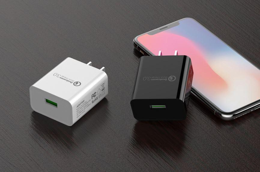 批发美规QC3.0快充充电器 UL认证5v3a手机USB快充充电头 通用闪充 6