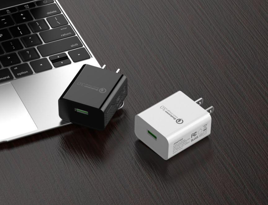 批发美规QC3.0快充充电器 UL认证5v3a手机USB快充充电头 通用闪充 7