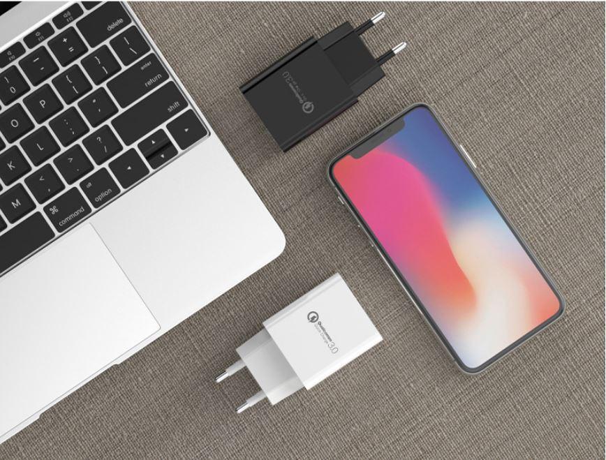 批发CE认证快充手机USB充电器 欧规QC3.0通用充电头 高端外贸款充电器 2