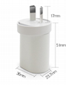 批发澳规USB充电头,手机充电器MF-05002000 2