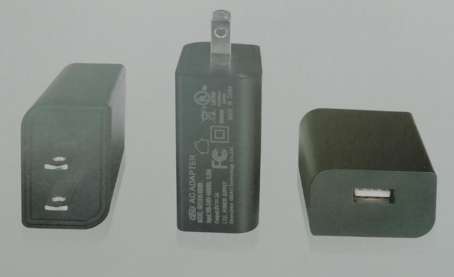 wholesales 5V3A  US usb  charger Model GEO151U-050300