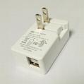 5V2.1A 雙USB充電器 型號GEO151U-050200U 5