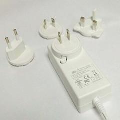 可换插头电源配器 24V1.5A adpter