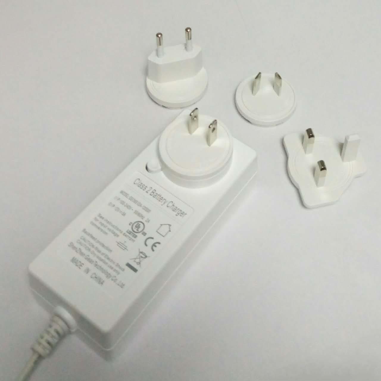 60W 72W 可换插头电源配器 开关电源 2
