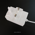24W Series Wall mount Switching AC/DC Adapters (UK plug)