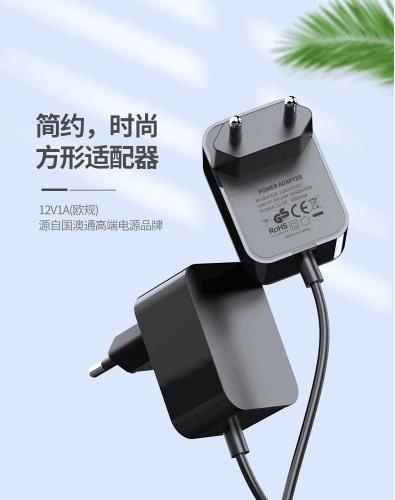 销售12V1A欧规电源适配器 GA-1201000V 2