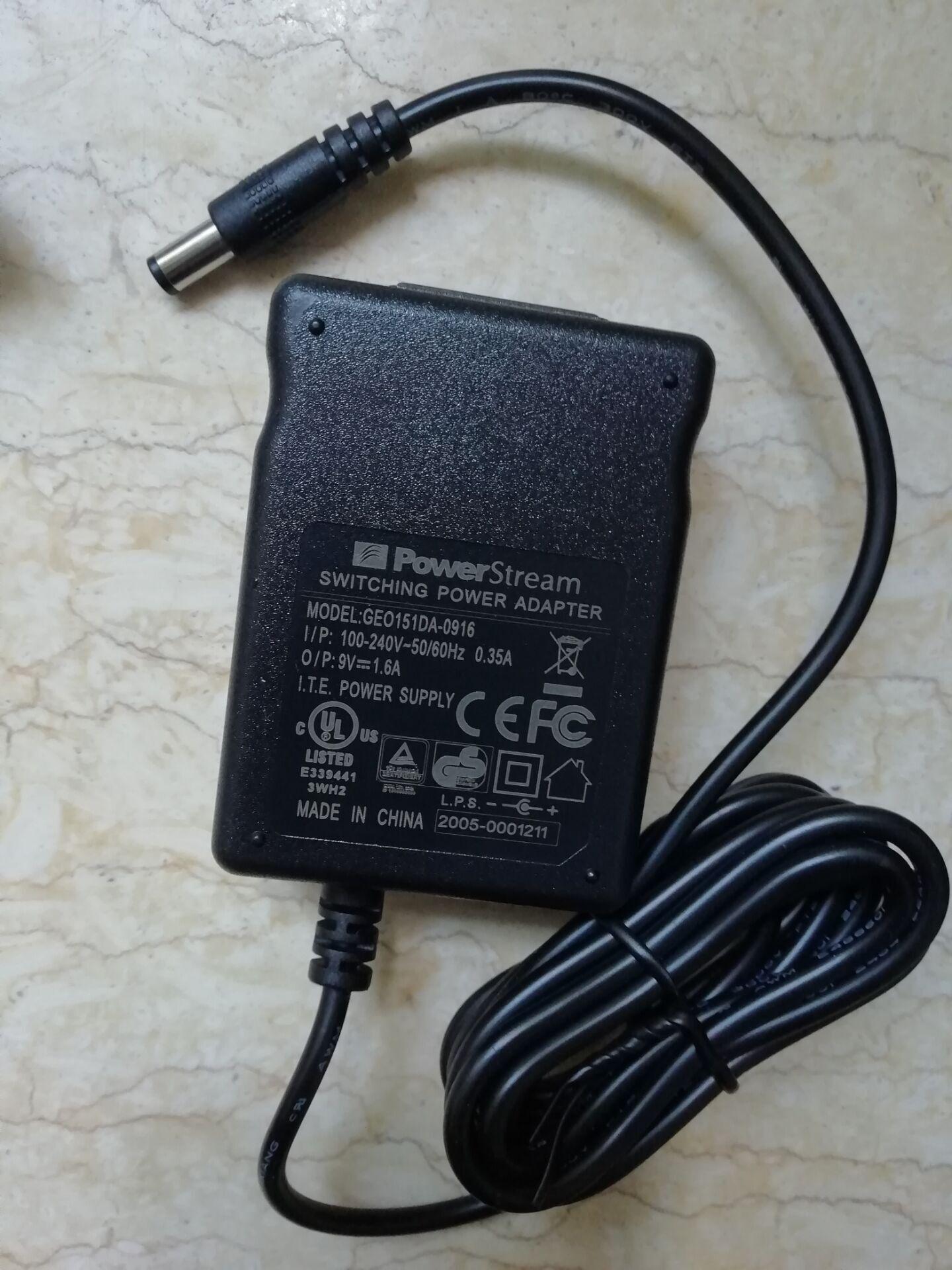 銷售桌面式9V1.6A開關電源適配器 1