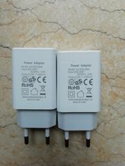 批發CE認証充電器5V1A,5V2A,出口歐洲