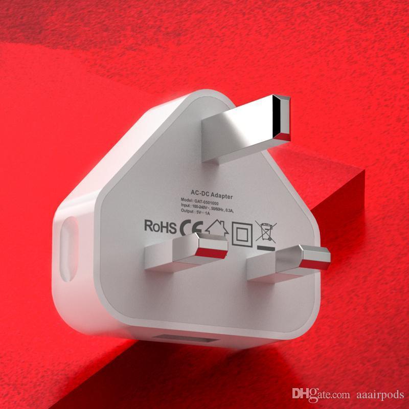 批發英規充電器5V1A,出口英國,黑白兩色 2