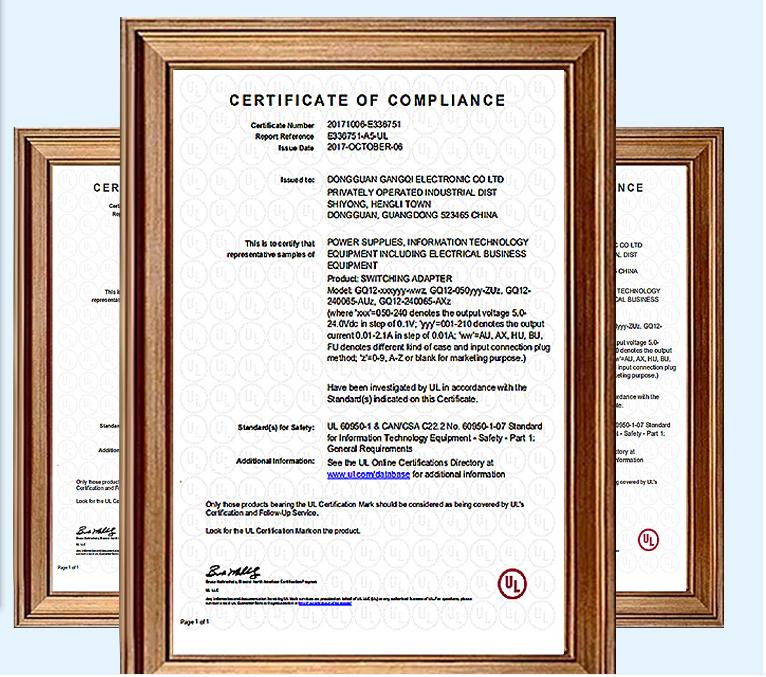 销售 5V2A UL认证电源适配器现货 GQ12-050200-HU 6