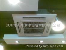 深圳南山區美的空調工程機  3