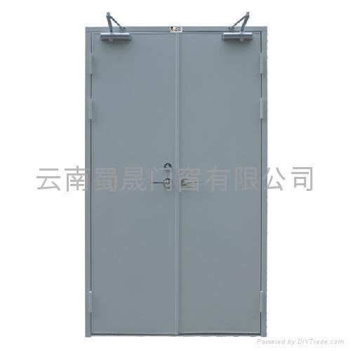 雲南鋼質防火門 1