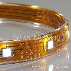 Flexible SMD TOP LED strip light with ultra bright 5050 TOP LED