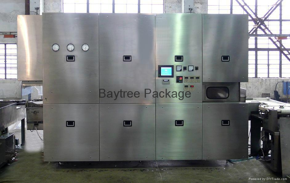 SHX-A series ampoule washing-drying-filling-sealing linked compactLine  4