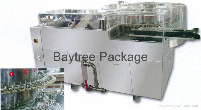 SHX-A series ampoule washing-drying-filling-sealing linked compactLine  3