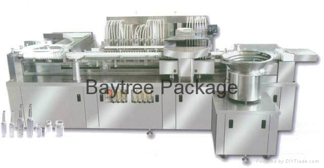 SHX-A series ampoule washing-drying-filling-sealing linked compactLine  5