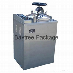 LS-B-50L-II Hand Round full Automaticly Vertical Pressure Steam Sterilizer
