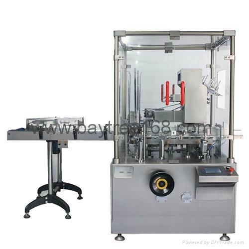 TZ-120P Automatic Carton Machine for Bottle
