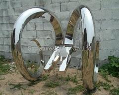 Stainless Steel Statuary