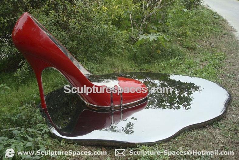 Stainless steel sculpture 1