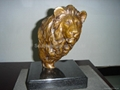 Bronze desktop lion 2