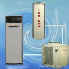 髮廊專用空氣能空調熱水多用機組
