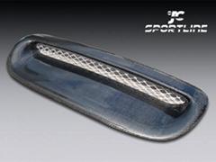 BMW MINI COOPER R55/R56/R57 CARBON HOOD SCOOP VENT COVER