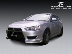 PU Body styling / body kits/ bodykit For 08 09 Mitsubishi Lancer EX/PU Body kits