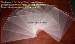 light fifuser polycarbonate sheet with UV protected for light box and LED panel