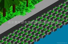 景暉自鎖式植生型擋土牆