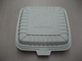 环保可分解快餐盒,玉米淀粉餐盒