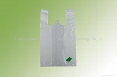 Bio plasticT-shirt bags