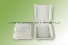 环保可分解快餐盒