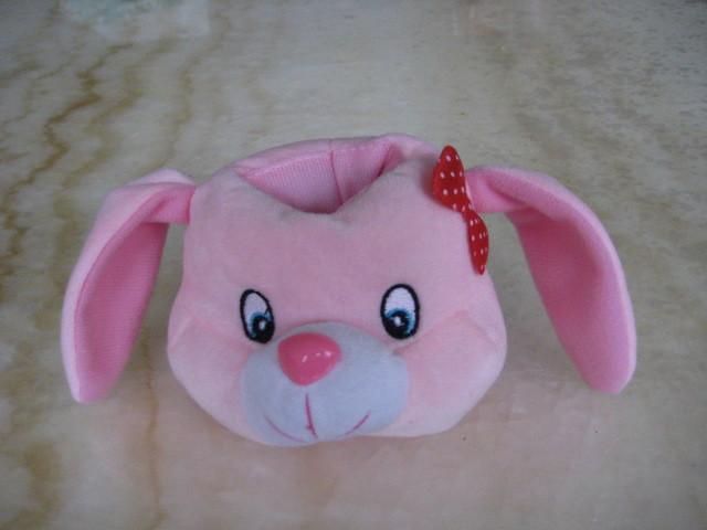毛绒玩具法国兔手机座 5