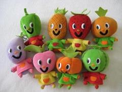 可愛毛絨水果寶寶系列