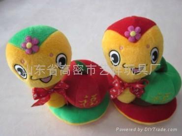 毛绒玩具蛇 1