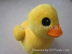 毛绒大黄鸭 3