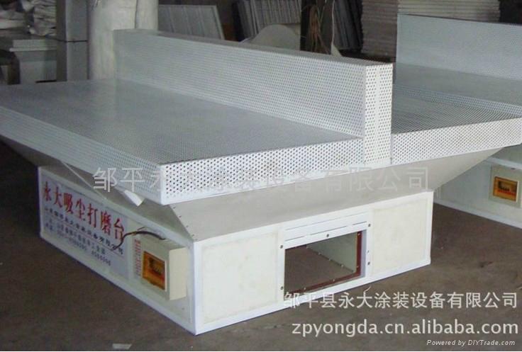 家具木工打磨吸尘工作台 2