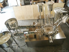 Effervescent Tablet Counting and Filling and Capping Machine