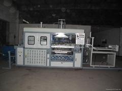 全自動高速吸塑機經濟型上海展仕吸塑機