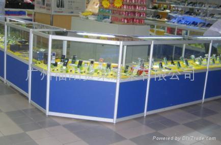 供应精品钛合金展示柜 2