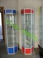 供应精品钛合金展示柜 5