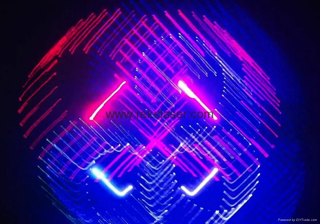 1 Watt Full Color 3d Animation Rgb Disco Laser Lighting