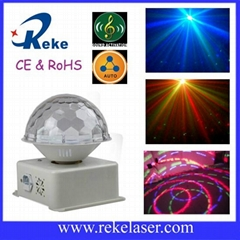 Full color rgb color changing cheap led magic ball light for disco & club