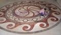 大理石水刀拼花地板